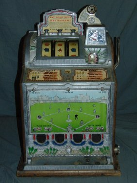 Mills Play Baseball 5 Cent Slot Machine