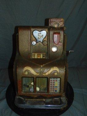 Mills Sweetheart 5 Cent Slot Machine