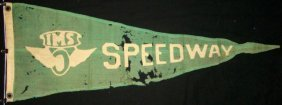 Indianapolis 500. Pennant-banner, Attributed
