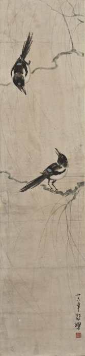A Chinese Scroll Painting Of Avian Motif, After Xu