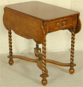 MAHOGANY PEMBROKE TABLE 20L X 31W X 29H