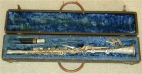 B C CO CADET NICKEL PLATED CLARINET IN