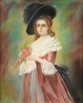 "British School (20th Century) A Painting, ""portrait Of"
