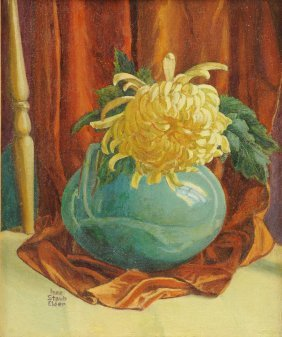 Inez Staub Elder (american 1894-1991) A Painting,
