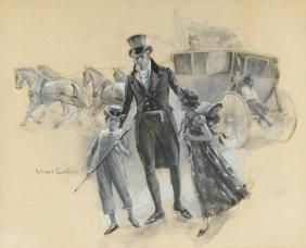Benjamin West Clinedinst (american 1859-1931) A