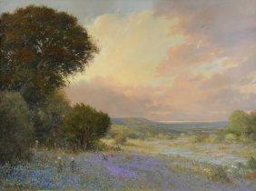 "John Barger (american/texas B. 1953) A Painting, ""texas"