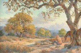 Malcolm Hughes (american / Texas B. 1957) A Painting,