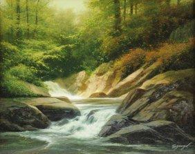 Edward Szmyd (american 1933-2004) A Painting,