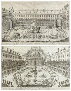 Gerard Bouttats (flemish B. C. 1630) Two Austrian