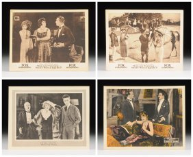 A Group Of Four William Fox Entertainments Silent Movie