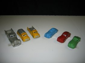 6 TOOTSIE TOY CARS