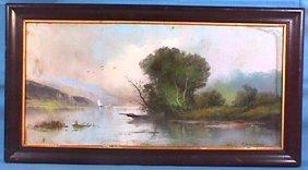 William H Chandler - Landscape Pastel