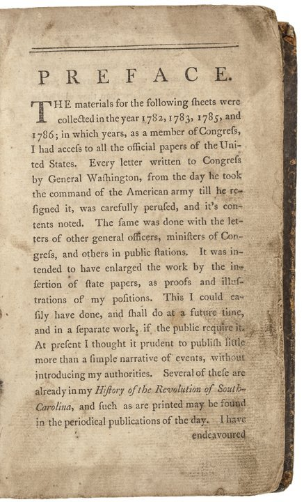 david ramsay history of the american revolution pdf