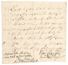 1766 French-indian War 46 Regt 1763 Proclamation
