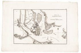 C. 1807 French Map Of The Siege Of Charleston