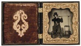 C. 1855-65 Civil War Era Ambrotype Vintage Photo
