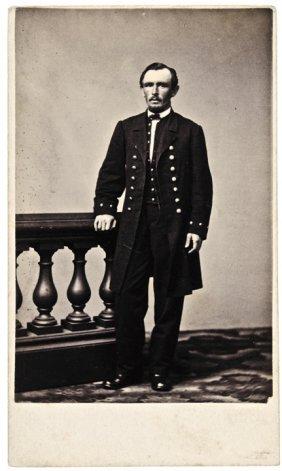 1860s Civil War Cdv Of Admiral John Dahlgren
