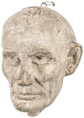 Volk Life Mask Reproduction Of Abraham Lincoln