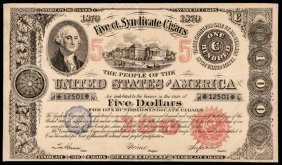 Advertising Note, Federal Bond $100 Mimic