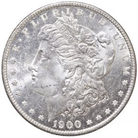 1900-o Morgan Silver Dollar Choice Uncirculated