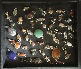 Group Of Jewelry Pendants.