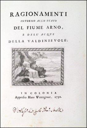 [florence, Arno River] Corsini-feroni, 1732