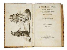 [novels] Manzoni, I Promessi Sposi, 1827 3 Vols