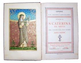 [saints, Lives, St. Catherine Of Siena] Capecelatro