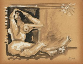 Pablo Picasso (spanish, 1881-1973) (attrib.)