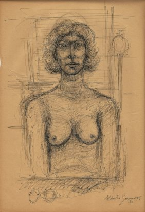 Alberto Giacometti (swiss, 1901-1966) (attrib.)