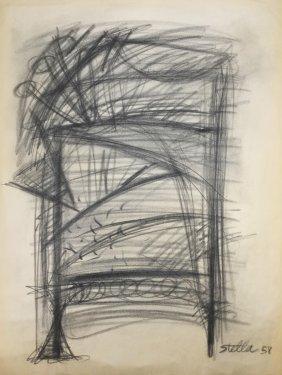 Frank Stella (american, B. 1936) (attrib.)