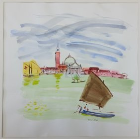 Raoul Dufy Watercolor Painting