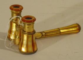 Mother Of Pearl Opera Glasses LeMaire