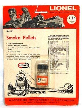 Lionel BSP Smoke Pellets On Blister Pack
