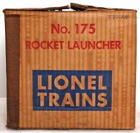 Mint Lionel 175 Rocket Launcher, OB