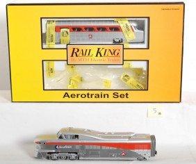 Railking Pennsylvania Aerotrain Set With Proto 2.0