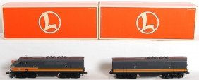 Lionel Milwaukee Road F3 A-B With TMCC