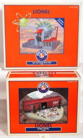 Lionel 463 Nuclear Reactor And Hobo Hotel