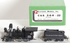 Overland Models Colorado And Southern 2-6-0