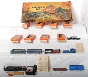 Boxed Lionel 11-L-262 Baltimore And Ohio Diesel HO