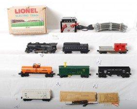 Lionel No. 11760 7 Unit Steam Train In OB