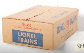 Lionel No. 460 Piggy Back Transportation Sealed In