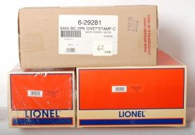3 Lionel Freight Car Packs 11849, 29281, 26981
