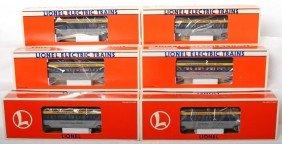 6 Lionel C&O Aluminum Pass Cars 19150, 19164, Etc.