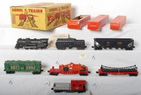 Boxed Lionel 2531 WS Loco W/smoke And Whistle Set