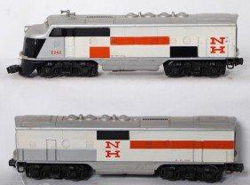 Lionel 2242 New Haven F3 A-B Diesel Locomotives