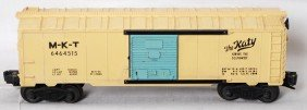 Lionel 6464-515 MKT The Katy Girls Train Boxcar