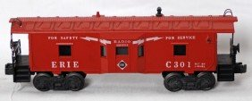 Lionel 6517-75 Erie Bay Window Caboose