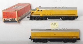 Lionel 2379 Denver And Rio Grande F3 A-B Locos