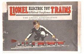 Lionel Prewar Consumer Catalog For 1922